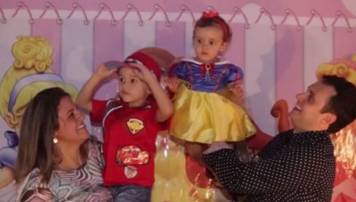 Aniversário Igor 4 anos e Rafaela 1 ano